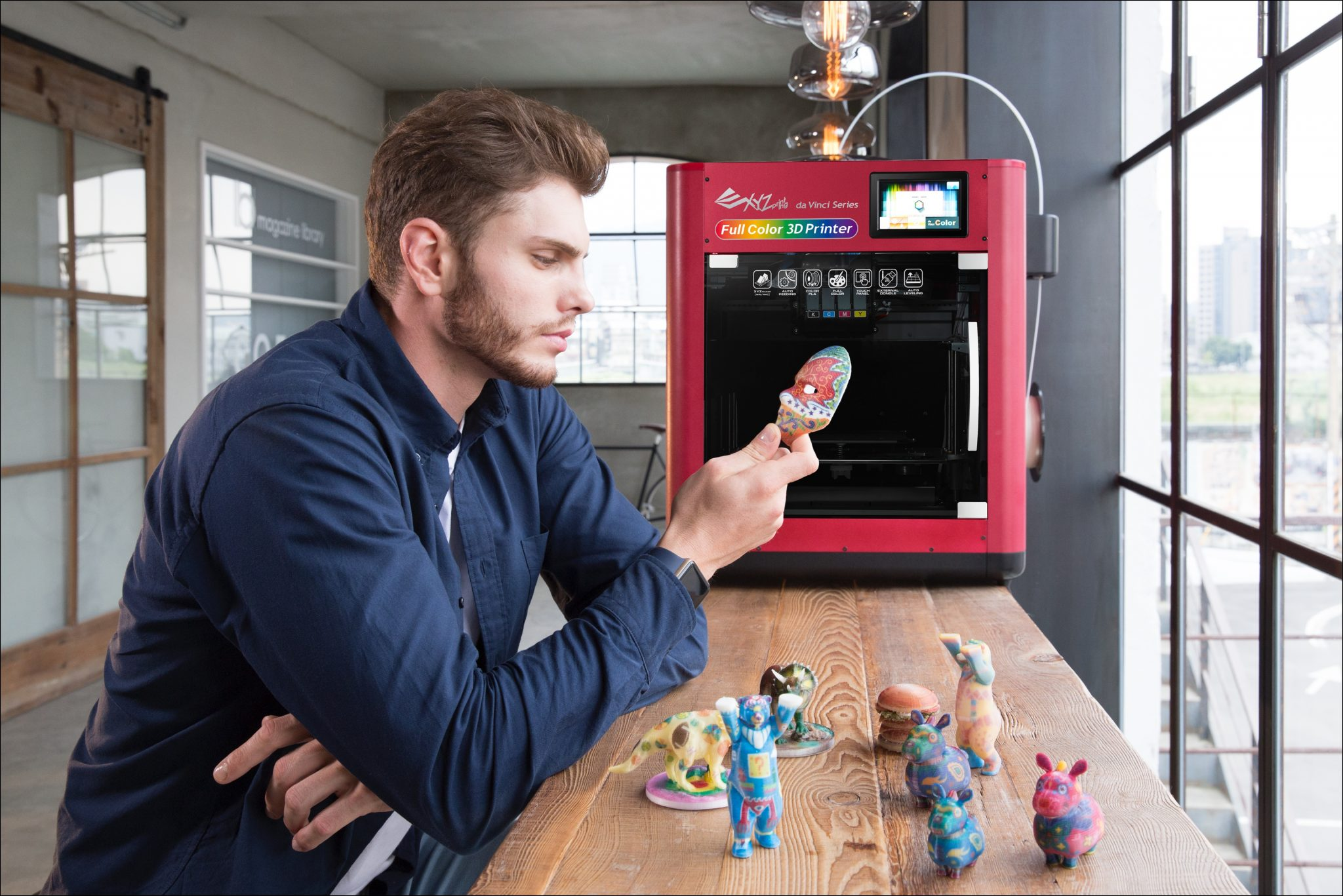 Impresora 3D Color