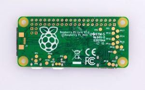Parte trasera Raspberry Pi Zero