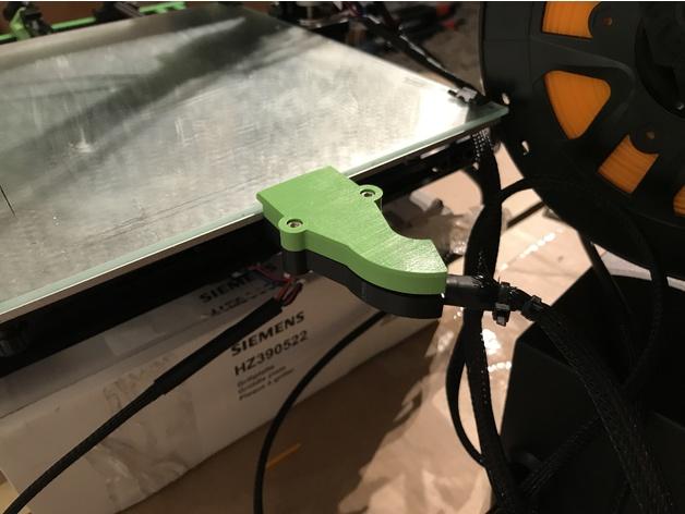 Carcasa conector Cama Caliente, Anet E10